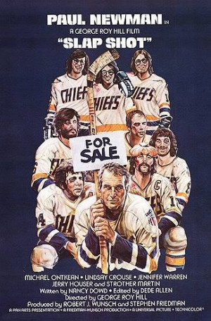 slapshot hill 1977 the local ice hockey team in a