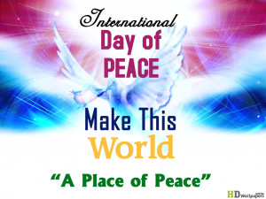 International Day of Peace Quotes Wallpapers
