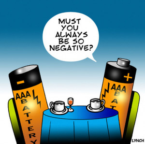 Life is Full of Negatives: