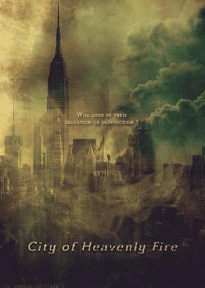 la ciudad de fuego celestial sale recién como en septiembre del 2013 ...