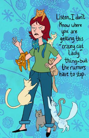 The Crazy Cat Ladies funny