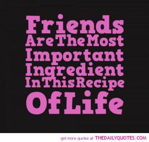 Friends Most Important Part