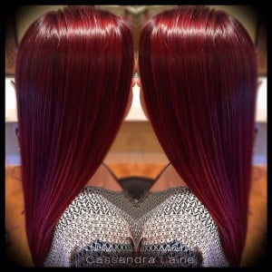Cherry Coke Red Hair Color