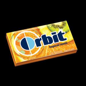 Orbit Gum Tropical Remix 12CT