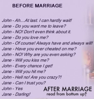funny pictures before and after marriage