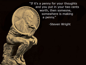 BLOG - Funny Quotes From Steven Wright