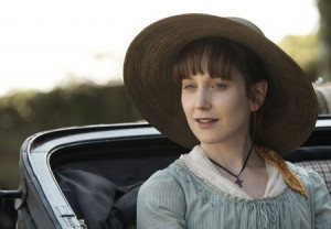 Hattie Morahan -- great as Elinor, and I love the colours they dressed ...
