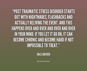 Post Traumatic Stress Disorder Quotes