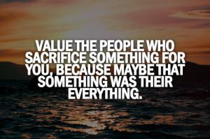 Value And Appreciate The...