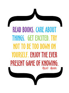 Read Books. Care About Things.