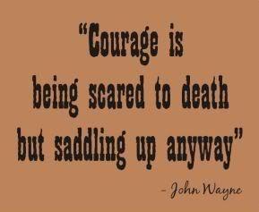 John Wayne Quote - john-wayne Fan Art