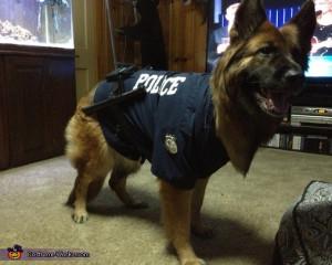German shepherd police dog -3, German Shepherd Police Dog Costume
