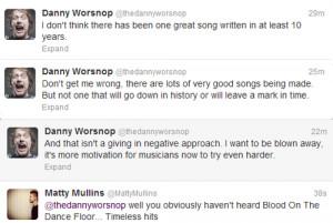 Asking Alexandria Danny Worsnop memphis may fire matty mullins