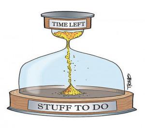 Time management…