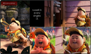 my favorite part of the movie. this is Russell's Quotes: