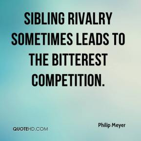 Sibling Rivalry Quotes