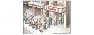 Confirmation bias is a more active form of the same experience. It ...