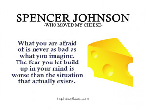 Who Moved My Cheese Quotes – Spencer Johnson