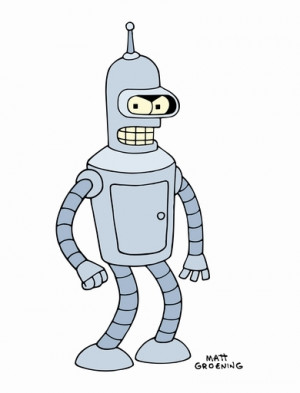 Bender (The Cartoon Character) Quotes