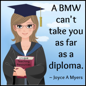 funnybmwdiplomaeducationquotejoyceamyers.jpg