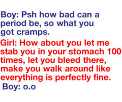 period cramps quotes