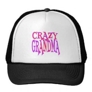 Crazy Grandma Trucker Hat