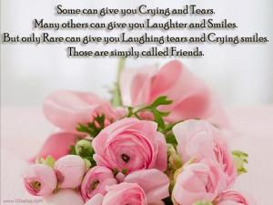 informative speech about friendship