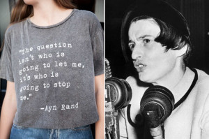 Ayn Rand, Girl-Power Icon
