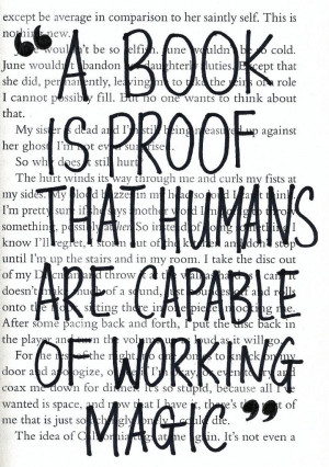 book is proof that humans are capable of working magic.