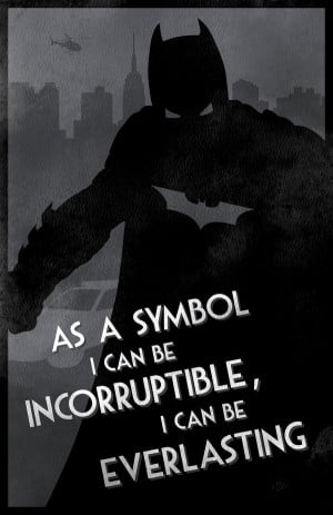 Batman Nolan-verse Silhouette Art by David Andersson