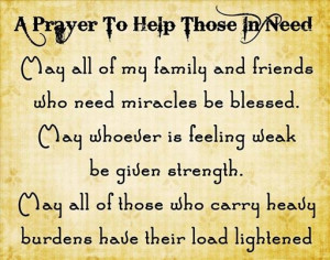 need your prayer quotes