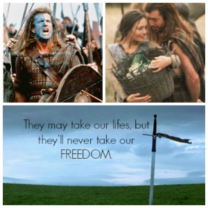 ... all time every man dies but not every man really lives william wallace
