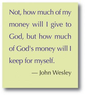 Church Stewardship Quotes