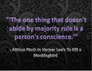 Quote from To Kill A Mockingbird
