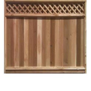 FT Cedar Fence Panels