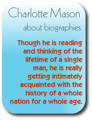 Charlotte Mason's thoughts on using living books for the learning of ...