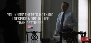 House of cards - quotes