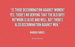 Quotes On Discrimination Against Women
