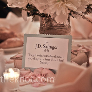 Literary Table Names