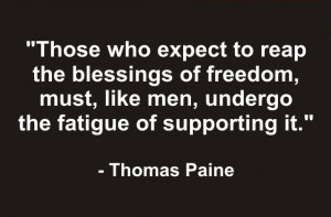 ... Hot Seat Quote of the Day – Sunday, May 15, 2011 – Thomas Paine