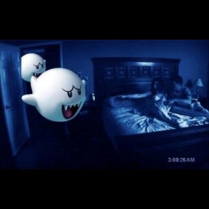 funny, haha, lol, paranormal activitys - inspiring picture on Favim ...