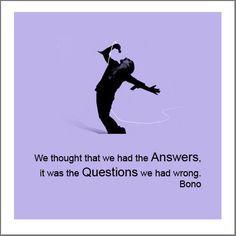 Bono/U2 quotes