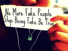 No More Fake People Please...