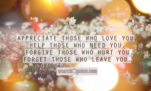 Love You And Appreciate You Quotes