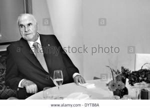 Stock Photo Celebration in honor of Helmut Kohl in Berlin 2012