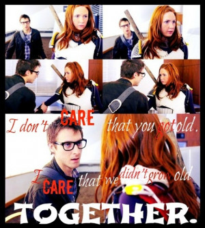 Amy and Rory - The girl who waited - quote by Beckie-Pond