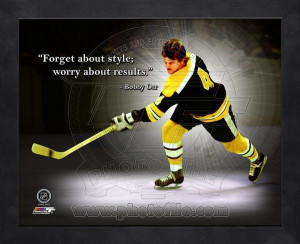 Bobby Orr Hockey Quotes