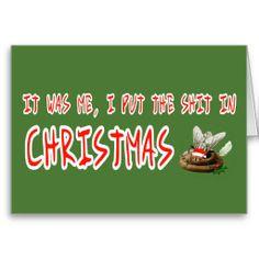 Shit Christmas cards #xmas #shitty #christmas