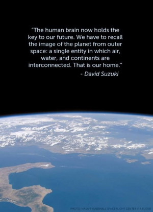 David Suzuki has it right. We're all connected. www.tentree.com # ...
