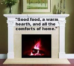 ... and all the comforts of home.